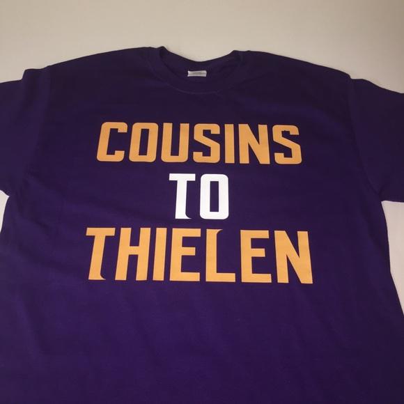 new products eea0d eb20b Minnesota Vikings Cousins To Thielen Shirt NWT